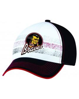 Casquette Ajm Team Velcro 5341m Braves Valleyfield