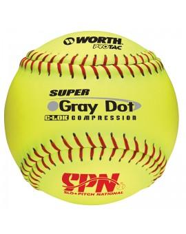 Balle Worth SPN Grey Dot 12