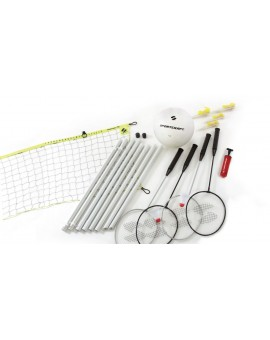 Ensemble récréationnel de badminton et volleyball