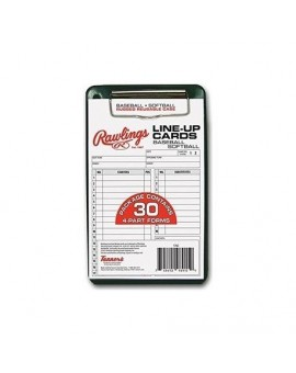 Cartes Line-up Rawlings