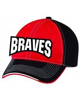 Casquette Ajm Velcro 6f617m Braves Valleyfield