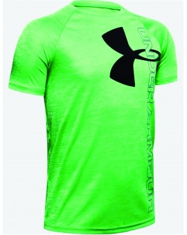 T-shirt Ua tech Split Logo Hybrid Jr