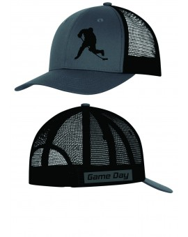 Casquette Game Day Snapback Charcoal/noir