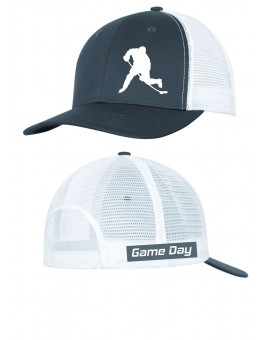 Casquette Game Day Snapback Gris/blanc