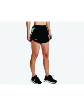 Short Under Armour Fly-by 2.0 Floral Femme