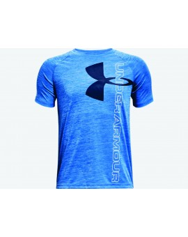 Chandail Under Armour Tech Split Logo JR