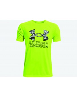 Chandail Under Armour Tech Hybrid Print Fill JR
