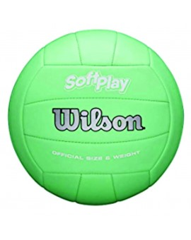 Ballon Volleyball Wilson Softplay Mint