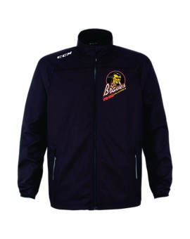 Manteau Ccm Tracksuit J5588 Braves Valleyfield